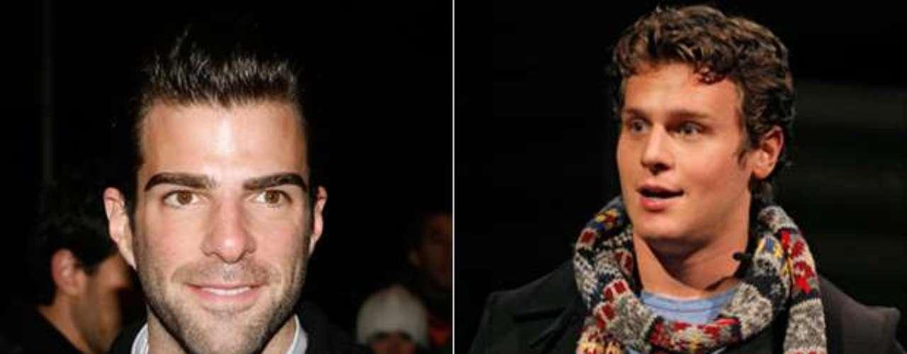 Zachary Quinto y Jonathan Groff. El deseado actor confirmó su relación con el actor de Glee, y dice que él es la persona que estaba buscando.