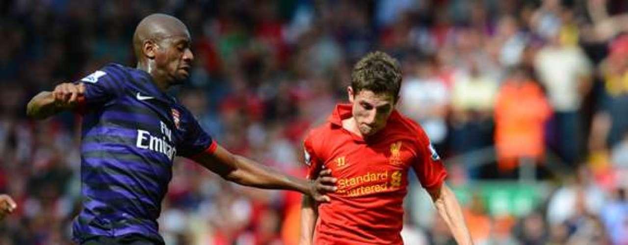16.- JOE ALLEN: El galés fichó por el Liverpool desde el Swansea por 19 millones de euros.