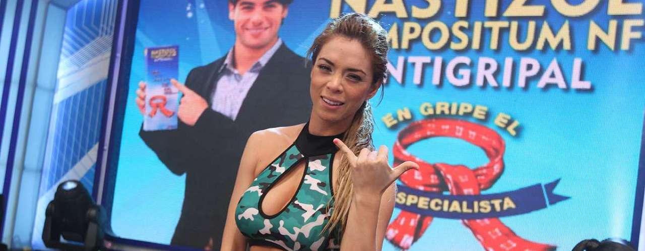 Sheyla Rojas.
