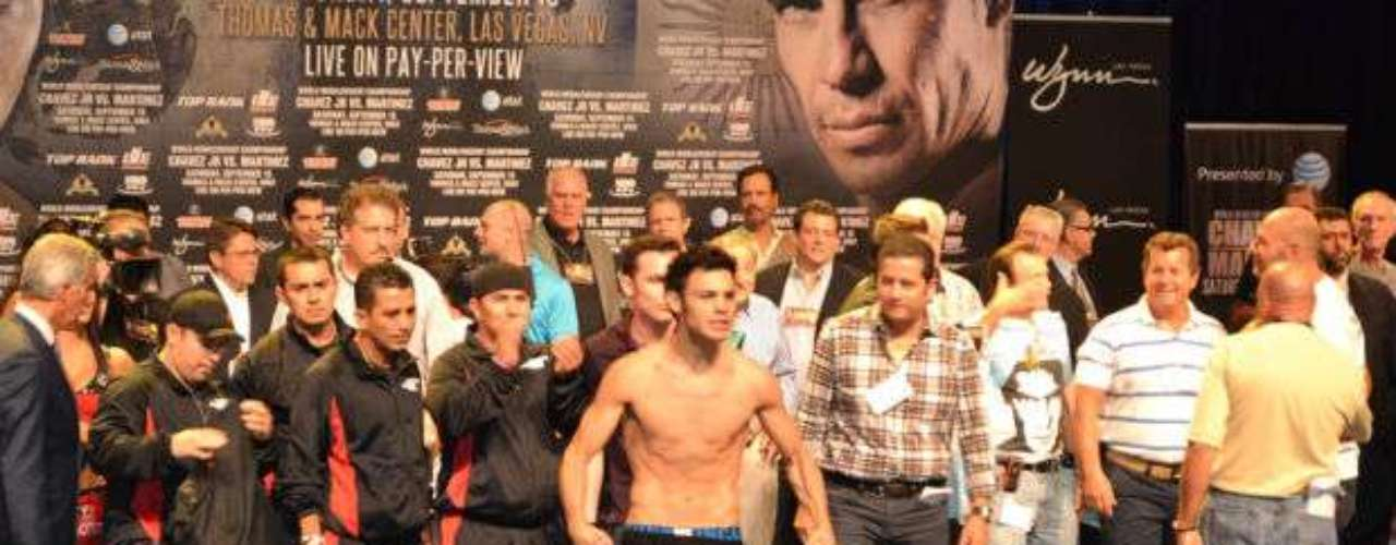For his part, Chavez, Jr. looked good physically, and his strength is believed to be his strong point.