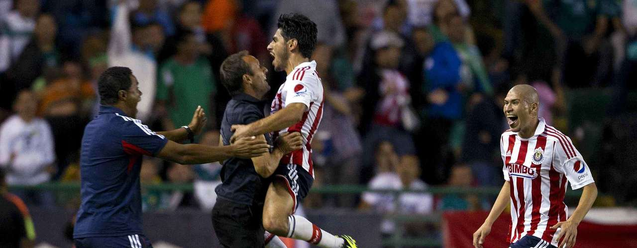 Rafael Marquez Lugo would give Chivas the win a couple minutes later.