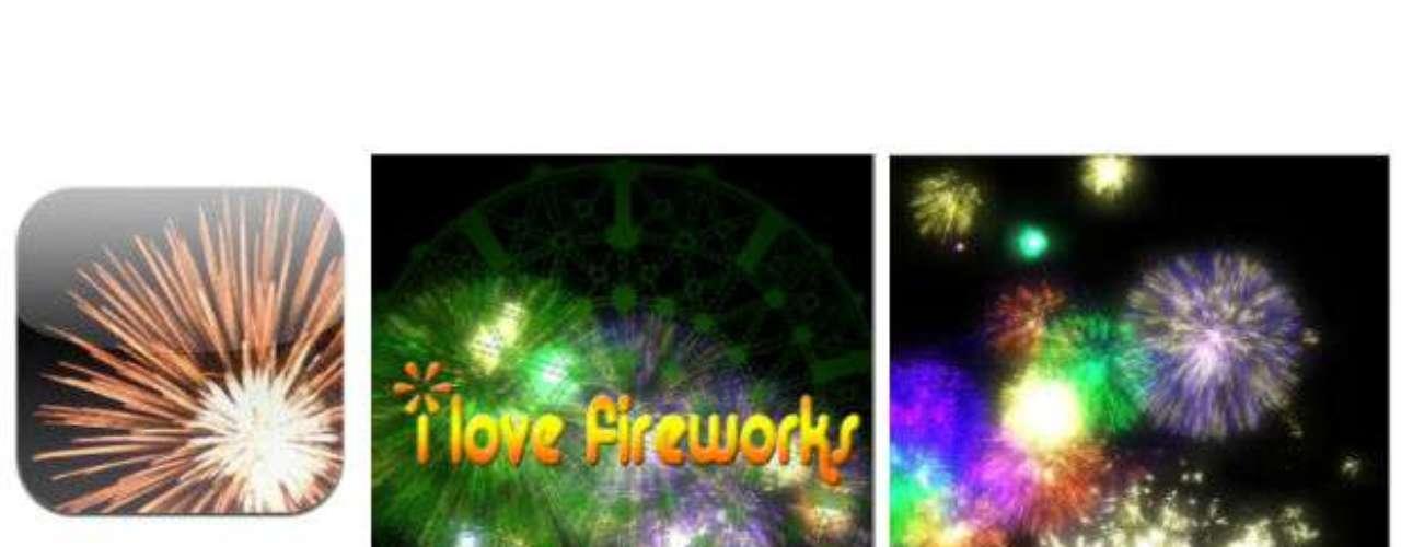 Contágiate de las fiestas patrias con esta app y crea series de fuegos artificiales con la punta de tus dedos.