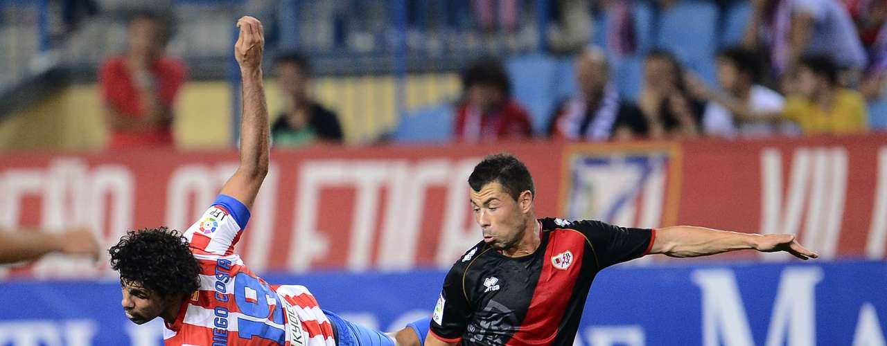 Con otro concierto de Radamel Falcao, Atlético de Madrid se impone 4-3 al Rayo Vallecano, que dio pelea de principio a fin