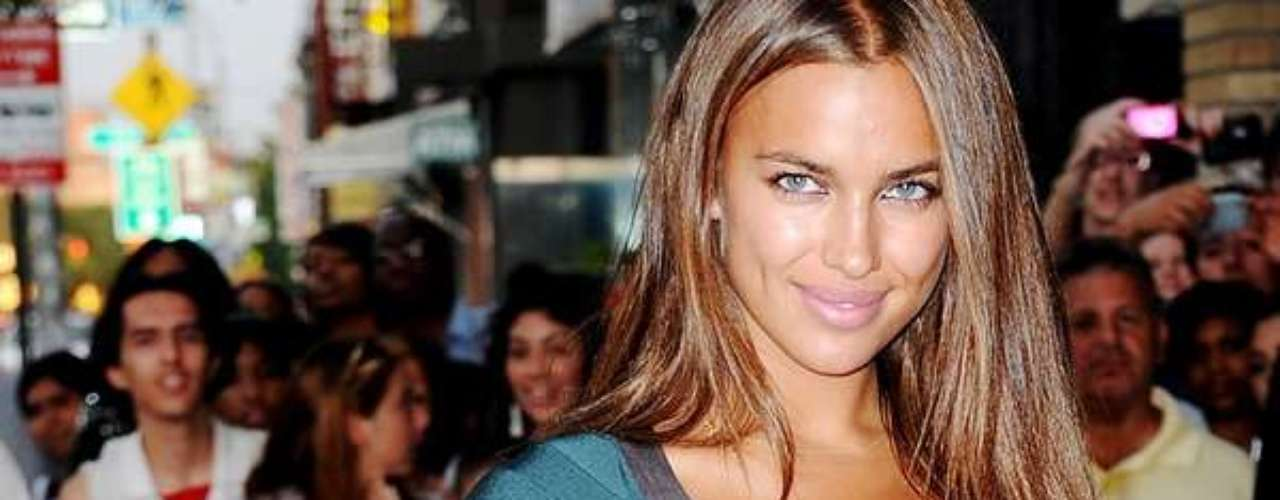 Irina Shayk is Cristiano Ronaldo's girlfriend.