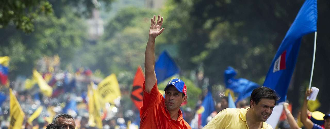 Capriles se autodefine como de \