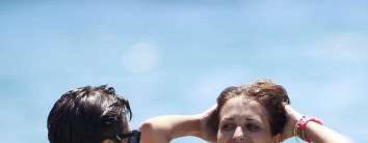 David y Paula han pasado parte de sus vacaciones en Ibiza.