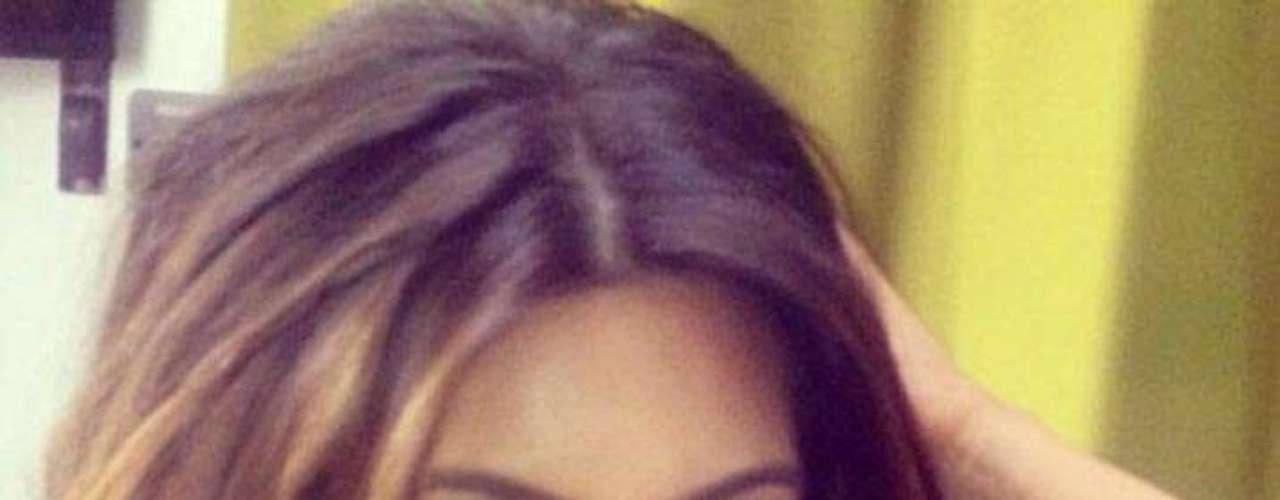 Kim Kardashian no podía faltar entre lo más ardiente de las redes sociales, a la estrella de la TV le encanta lucirse.
