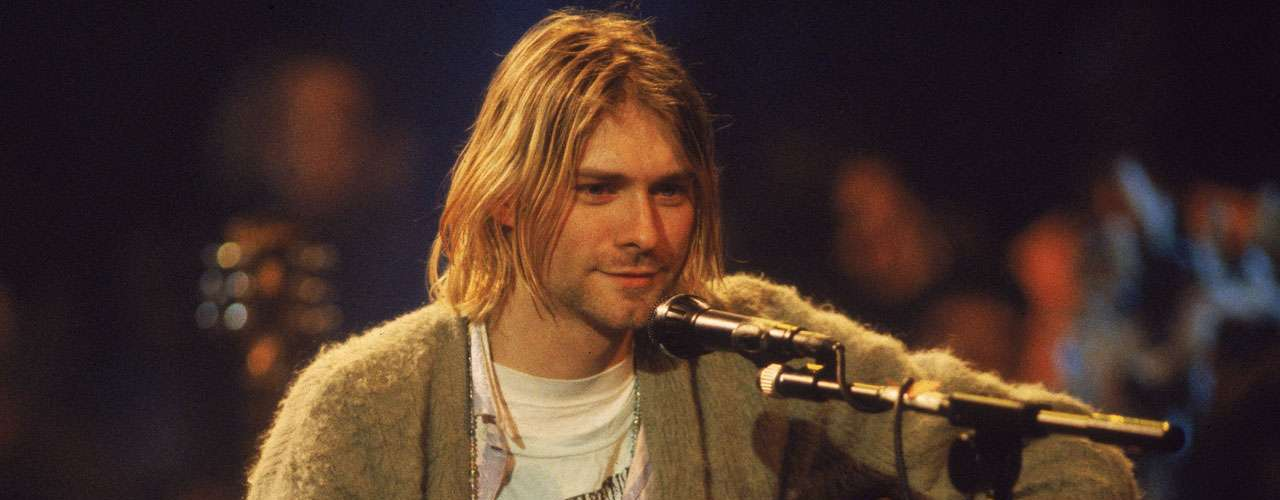 5.- Kurt Cobain's lyrics and raw emotion won Nirvana their fame after the release of their now anthemic hit \