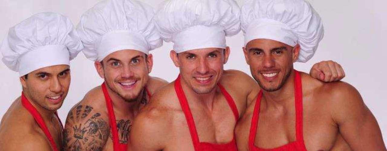 Según el sitio web de la cocinera: 'Man Candy & Cupcakes es un libro y que traerá la fuerza física para hornear. Contará con deliciosas recetas de cupackes traídos para ti por los panaderos más sexis del mundo'.