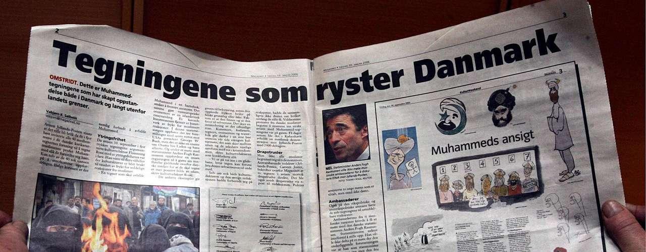 El 10 de enero de 2005, la revista cristiana Magazine, en Dinamarca, publicó una serie de historietas sobre el profeta Mahoma, que incendiaron la ira de los musulmanes en todo el mundo.