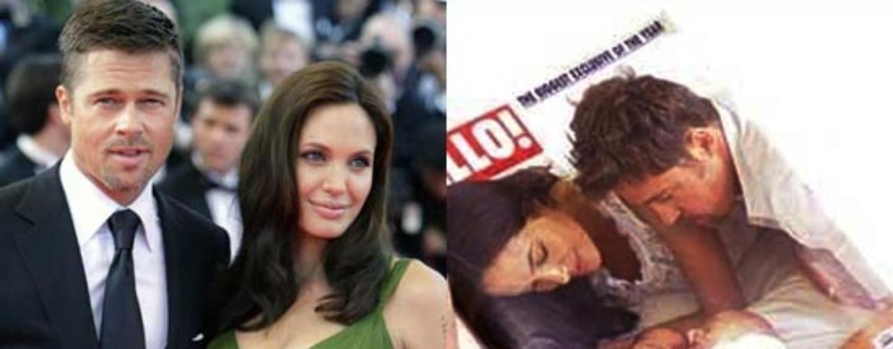 Angelina Jolie dio a luz mediante cesárea en la clínica Santa María de la Fundación Lenval, en Niza a los mellizos Knox y Vivienne. Knox Leon pesó al nacer 2,27 kilogramos, y su hermana, Vivienne Marcheline, 2,28 kilos.Angelina no estuvo sola en ningún momento, y pudo sentirse más relajada gracias a la compañía de su marido, Brad Pitt
