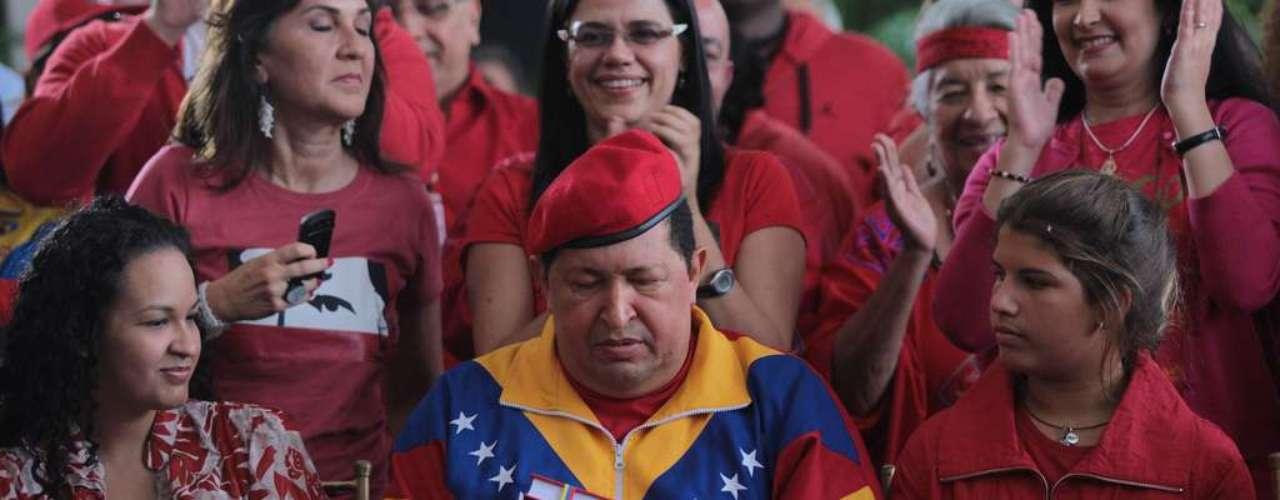 En junio de 2012 Chávez se Inscribió ante el CNE como candidato presidencial.