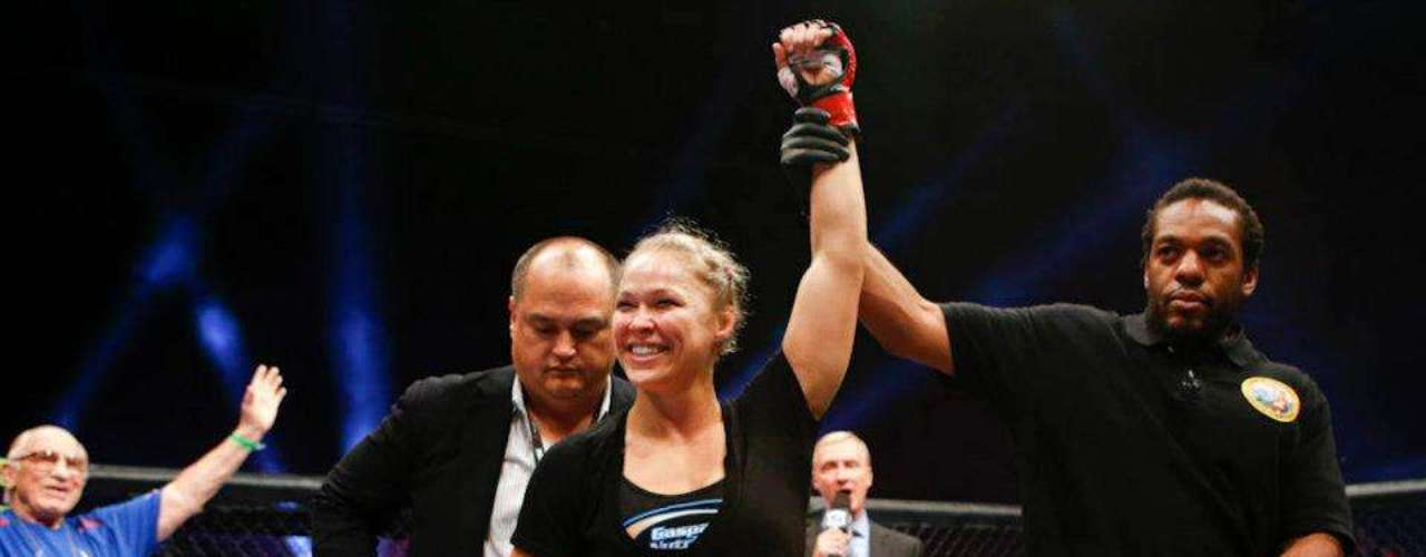 She is considered by most media critics as the number one pound for pound fighter in women's MMA.