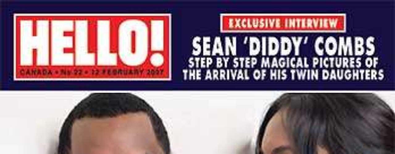 Sean Diddy Combs y Kim Porter tuvieron a las mellizas DLila y Jessie James.