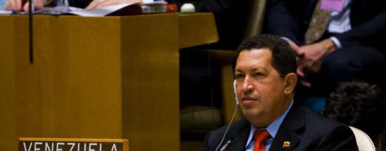 Esta foto fue tomada en septiembre de 2009 durante una Asamblea de la ONU.