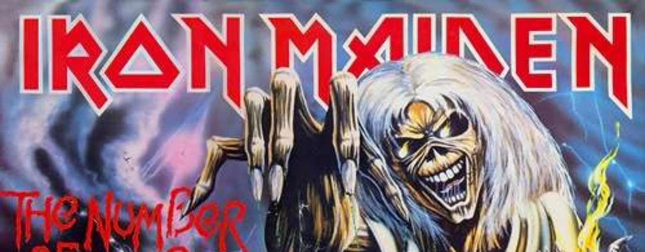 4. Iron Maiden - 'The Number of the Beast'. Este trabajo supone el primero con el vocalista Bruce Dickinson y el último con el percusionista Clive Burr. El álbum también tuvo polémica debido a la naturaleza profana de las letras y su portada, sin embargo, no tiene un solo momento de debilidad, desde las primeras notas de 'Invaders' hasta 'Hallowed Be Thy Name'.