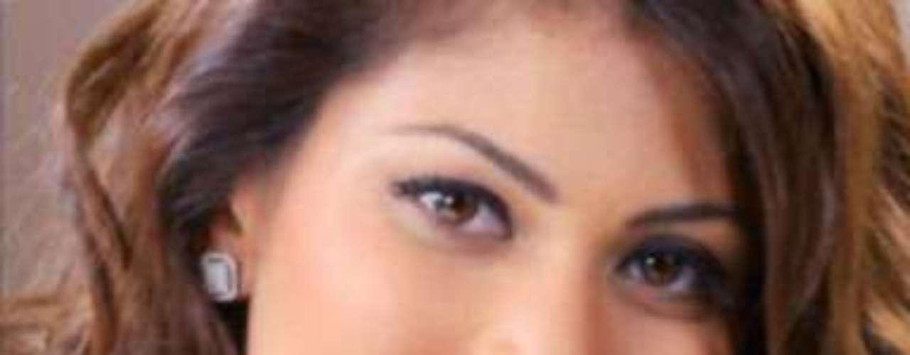 Miss Sri Lanka - Sabrina Herft. Nació en Colombo. Mide 1.75 metros de estatura. Su cabello es castaño y sus ojos  color marrón.