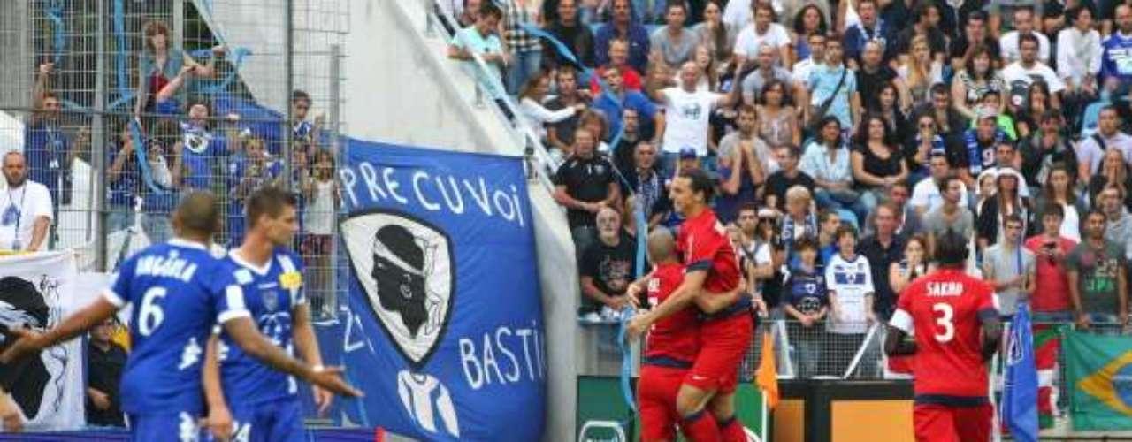 Matuidi marcó el 3-0 al 72' y Zlatan cerró la goleada en el último suspiro para llegar a siete tantos en el campeonato francés; el escandinavo es líder de goleo en Francia.