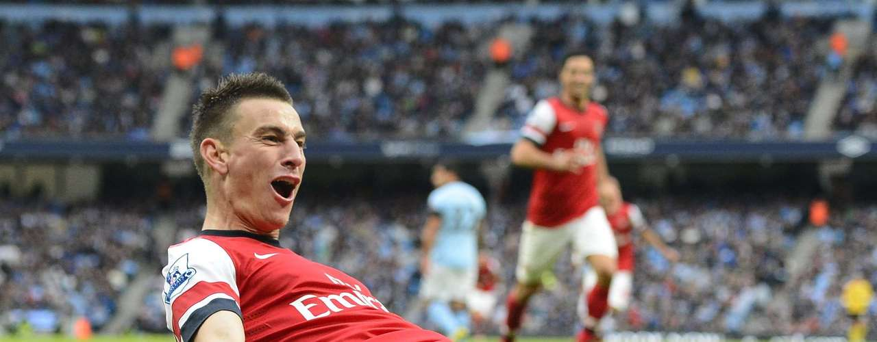 Koscielny's goal was Arsenal's equalizer against Man City