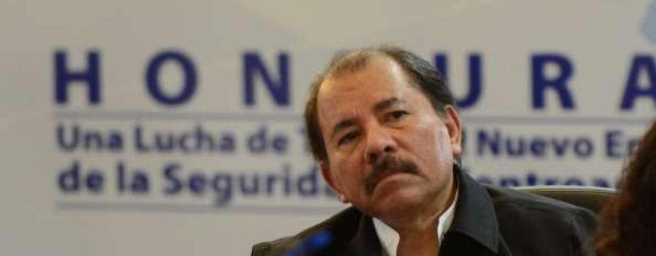 Por detrás se encuentran el presidente nicaragüense, Daniel Ortega, en el poder desde 2006, con el 59% del apoyo ciudadano.