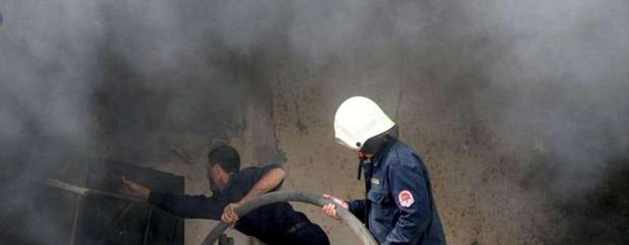 Días atrás el estallido de algunos artefactos explosivos en una escuela de Damasco, donde según la oposición se refugiaban milicianos progubernamentales, causó varias víctimas, según diversas fuentes. Sin embargo, la brigada \