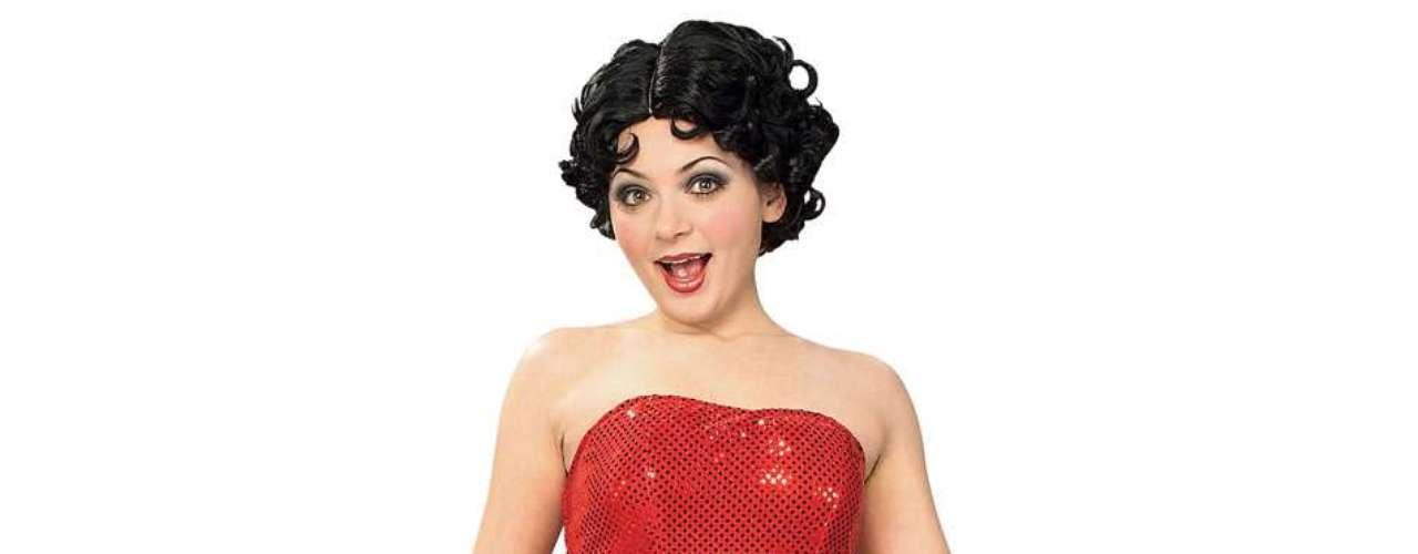 Lleva el personaje de dibujos animados más sexy en Halloween, una  Betty Boop al rojo vivo! ¡Irresistible!