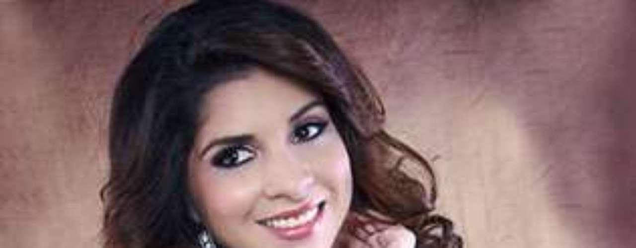 Miss El Salvador - Marlin Ramirez. Tiene 21 años de edad y mide 1,72 metros de estatura.