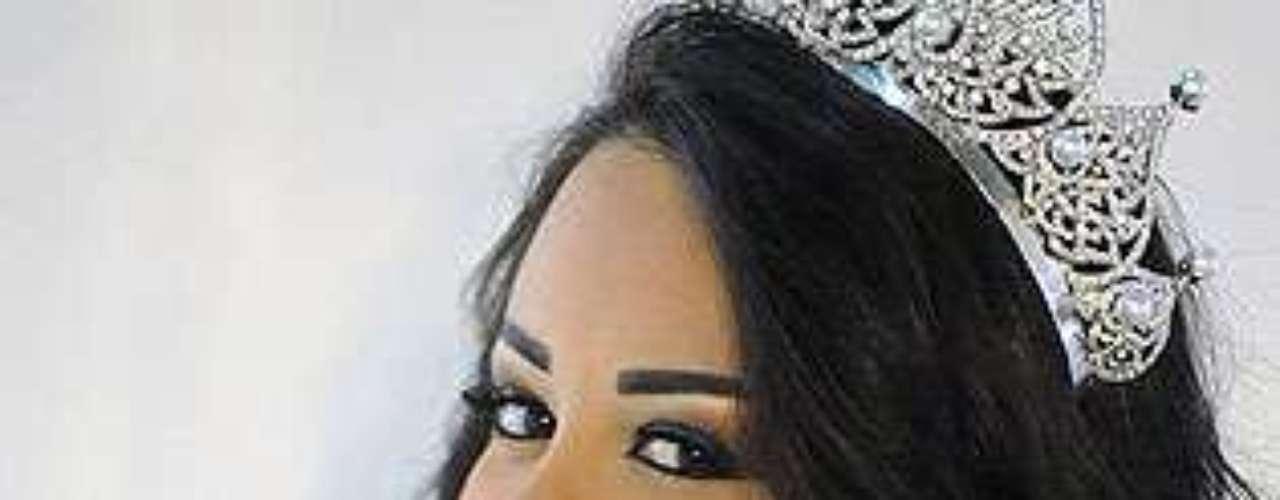 Miss Líbano - Cynthia Moukarzel. Tiene 24 años de edad y mide 1,70 metros de estatura.