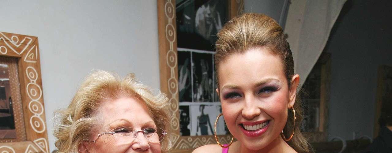 Lamentablemente, el 27 de Mayo del 2011, la mamá de Thalía, la señora Yolanda Miranda murió a causa de un paro cardíaco en la Ciudad de México.