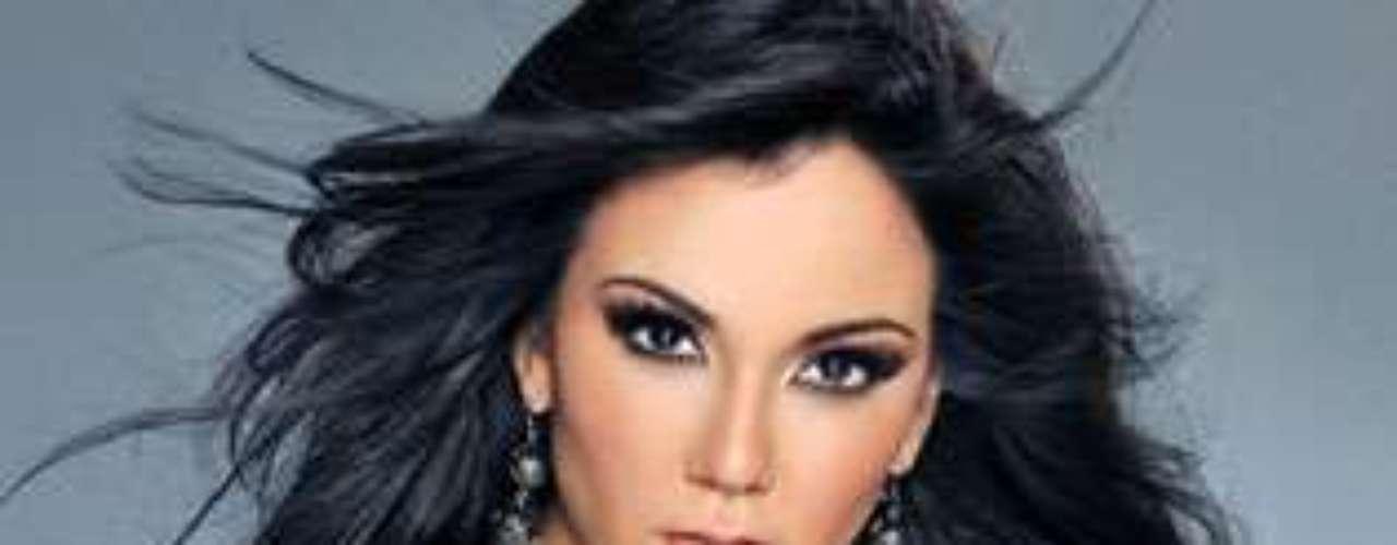 Miss México - Jessica García Formenti. Tiene 22 años de edad y mide 1.79 metros de estatura.