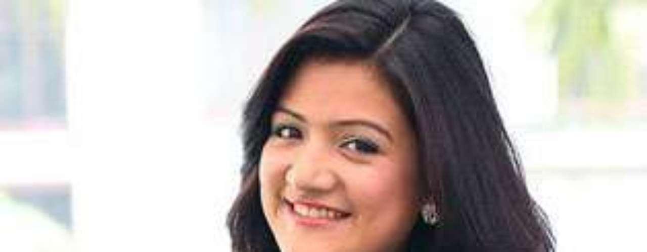 Miss Nepal -  Subekshya Khadka. Tiene 19 años de edad y mide 1.68 metros de estatura.