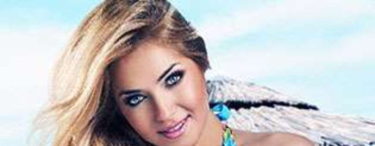 Miss Polonia - Rozalia Mancewicz. Tiene 25 años de edad y mide 1.75 metros de estatura.
