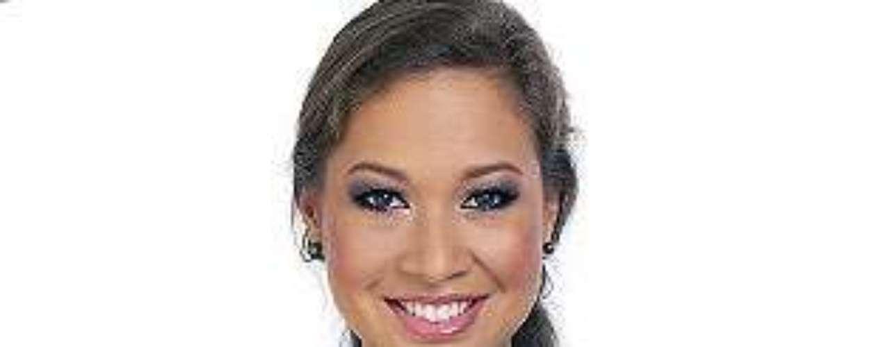 Miss Tahití - Ariirau Sandras.