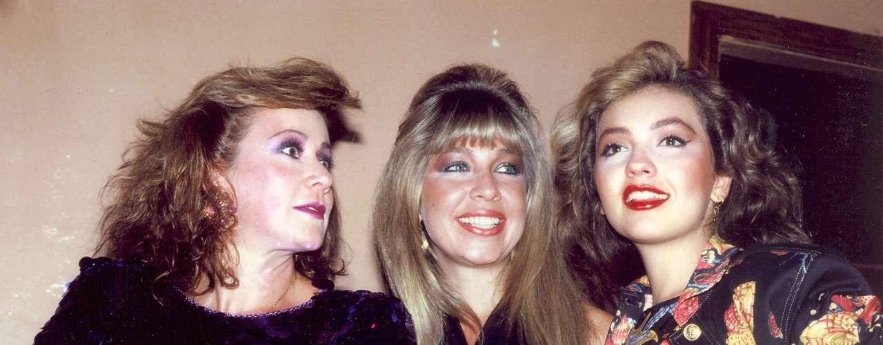 Las más cercanas siempre fueron Laura, Ernestina y Thalía quienes además eran las 'famosas' de la familia debido a su estilo de vida.