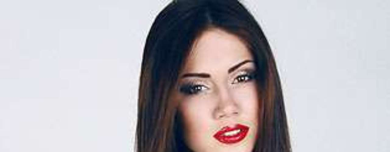 Miss Ucrania - Julia Gershun. Tiene 22 años de edad y mide 1.76 metros de estatura.