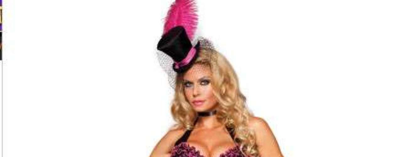 Un traje del burlesque tiene que ver con el arte de la seducción y en este disfraz ingeniosamente diseñado  seducirás a todos con facilidad. Tú decides hasta dónde quieres ir en Halloween.