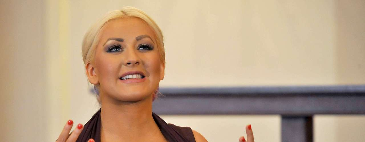 Christina Aguilera, quien ha sido duramente criticada por su aumento de peso, fue nombrada en 2007, \