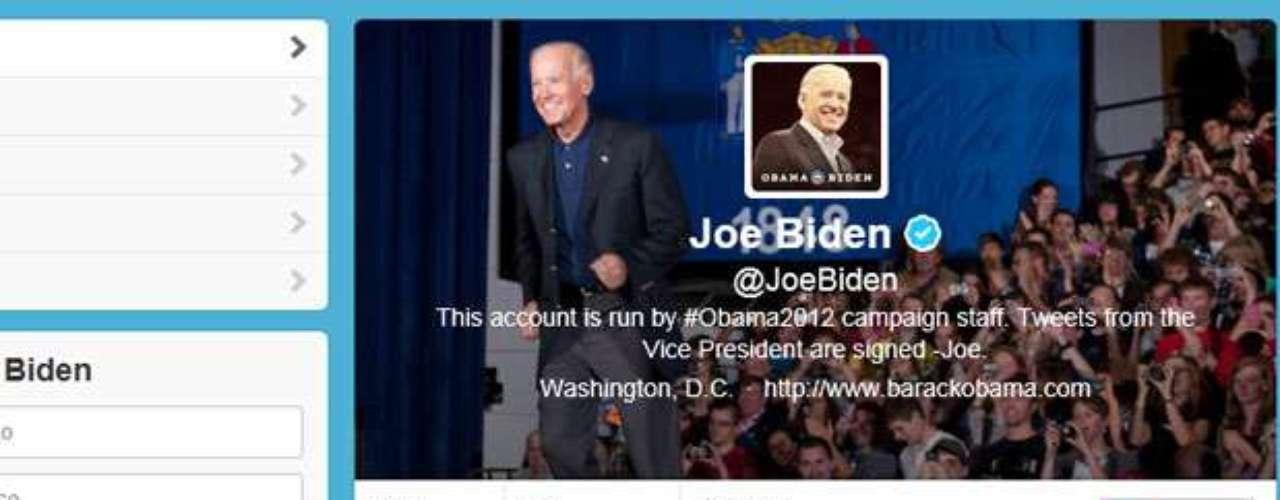 Por su parte el VP Joe Biden publicó la noche del debate en su cuenta de Twitter: \