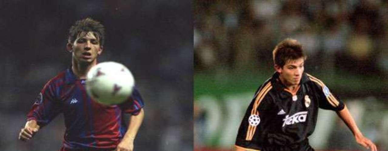 Albert Celades surgió de La Masía, aunque fue comprado por el Real Madrid. Pese a que no figuró, el mediocampista catalán ganó la octava Copa de Europa con el Real en el 2000, tras vencer en la Final al Valencia (3-0).