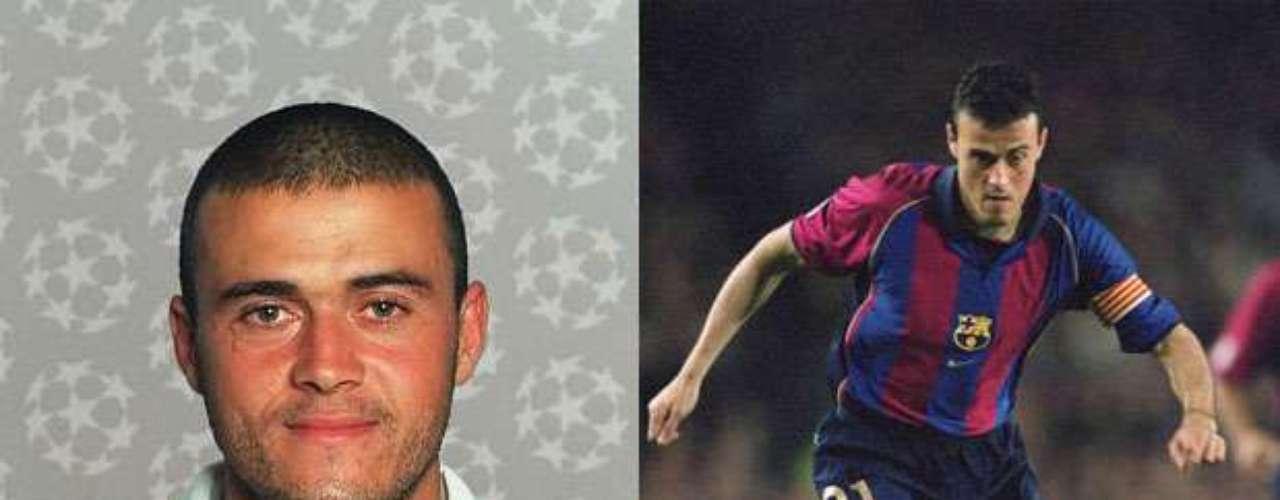 Luis Enrique profesa más su amor por el Barcelona, a pesar de que primero jugó en el cuadro de la capital española. No obstante, surgió del Sporting de Gijón.