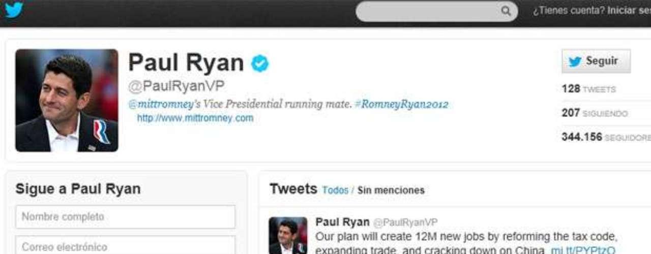 Por su lado el candidato republicano a la VP de Estados Unidos Paul Ryan posteó en su cuenta de Twitter: \