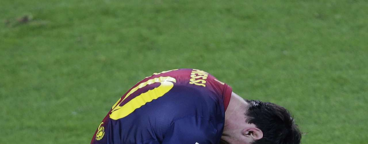 Then came his celebration in the 61st minute, after he bent a free kick into the net to give Barca a short-lived 2-1 lead.