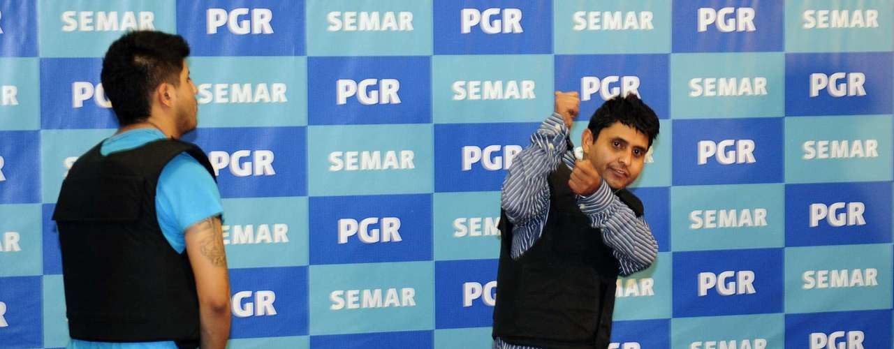 8 de octubre de 2012 - Salvador Alfonso Martínez Escobedo y/o Carlos García, alias \