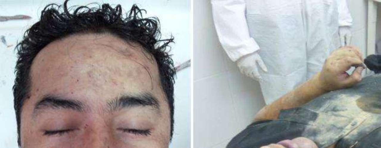 La Procuraduría General del Estado de Coahuila confirmó también que el cuerpo de Heriberto Lazcano Lazcano, alias \
