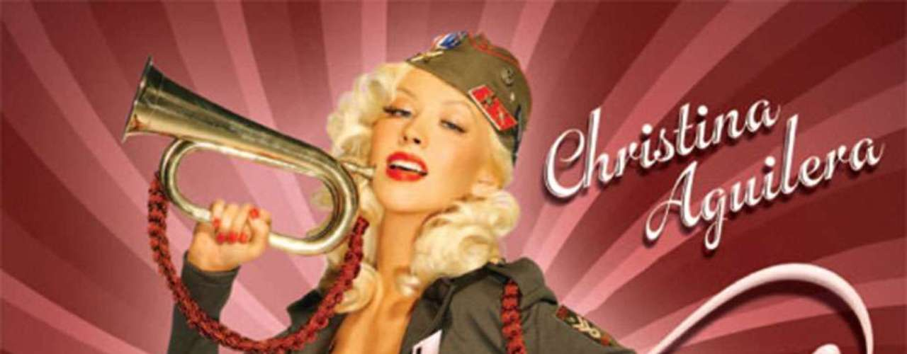 Aguilera, se mete en la piel de una exuberante mujer del ejército para hacerle publicidad a la canción \