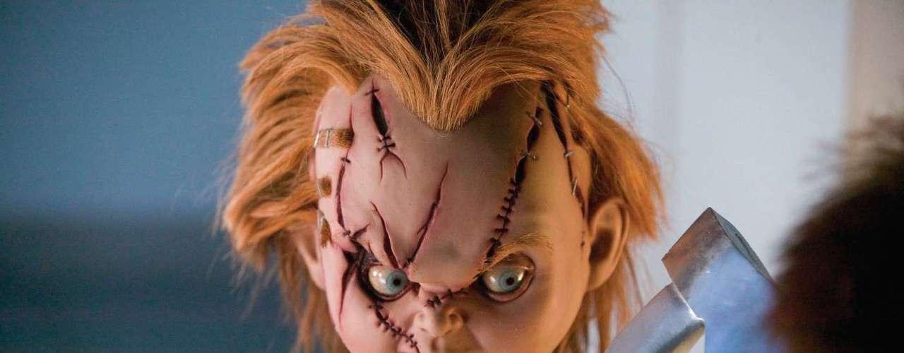 CHUCKY: nombre del famoso muñeco asesino, que ha asustado a varias generaciones.