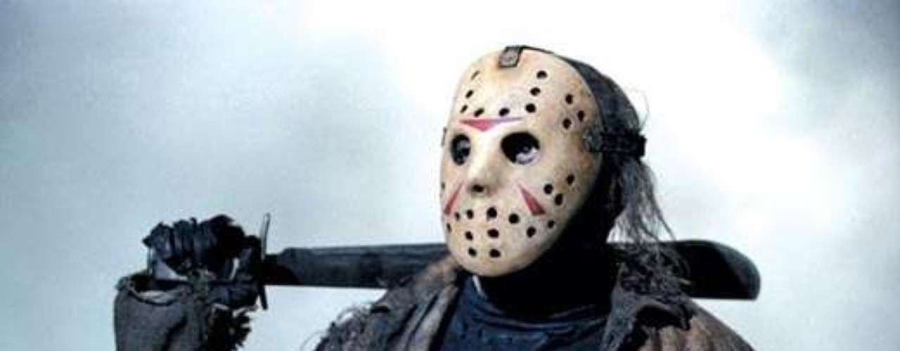 JASON: Jason Voorhees es el personaje de la serie de películas Friday the 13th. Su máscara es símbolo de Halloween.