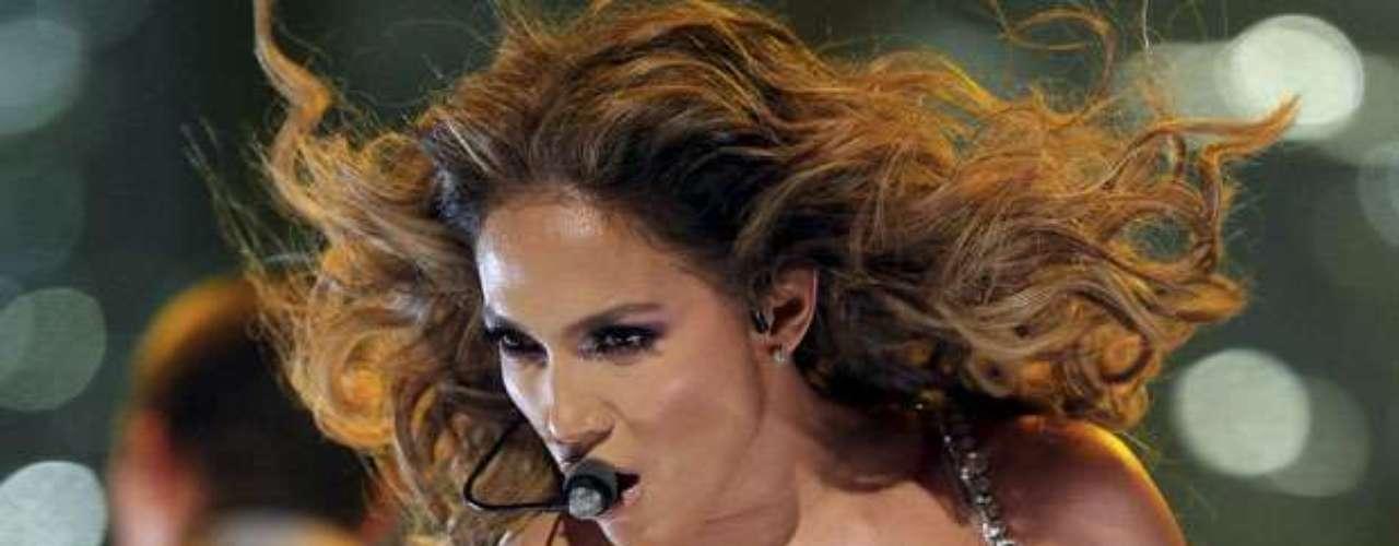 En su primer y único concierto en España, J. Lo se dejó ver como toda una reina en la tarima.