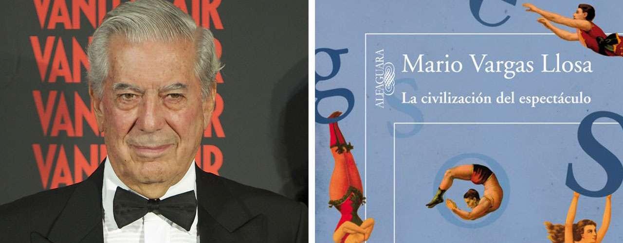 El escritor hispanoperuano Mario Vargas Llosa fue el ganador en 2010 \