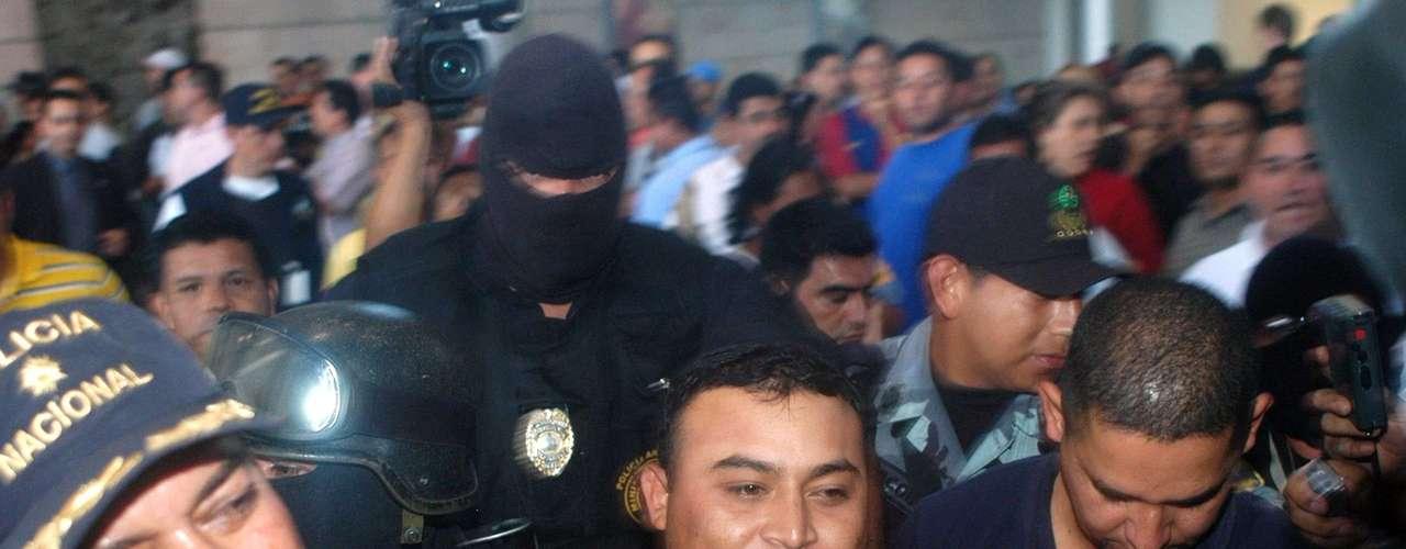 5 de enero de 2007 - El presunto narcotraficante y cabecilla del denominado \